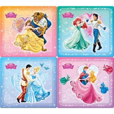 8 10 12 14조각 판퍼즐 - 디즈니 프린세스 1 (4종)