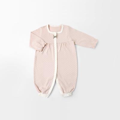 [메르베] 도로시 신생아 아기 실내우주복_사계절용
