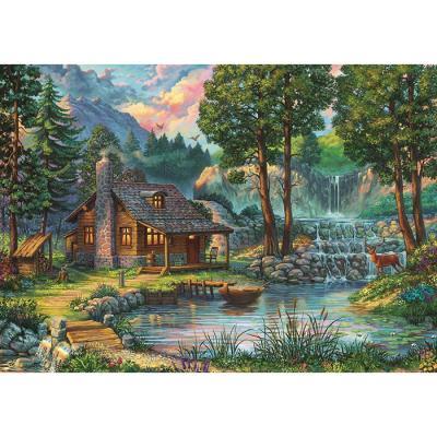 1000피스 직소퍼즐 - 평온의 숲