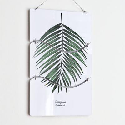 nn461-멀티아크릴액자_보테니컬코코넛잎(3단물결)