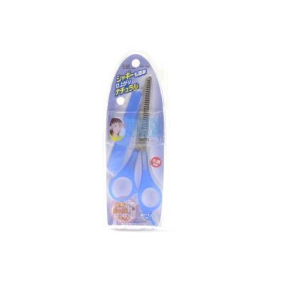 셀프미용 여자눈썹정리 블루색 숱가위 KQ-1008 9003