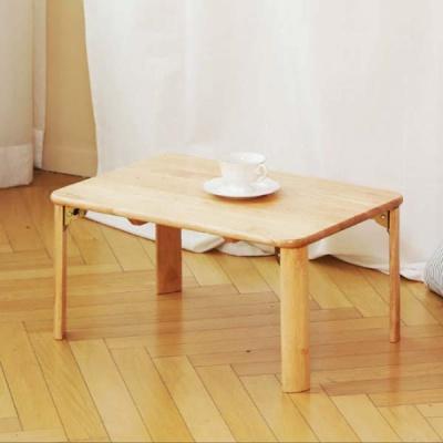 순수원목 좌식 접이식 테이블 중