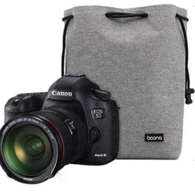 카메라렌즈 싱글 보호커버 카메라 파우치(L) 그레이