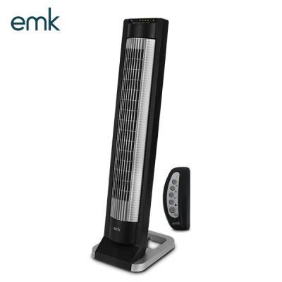 emk 공간절약 타워형 선풍기 ETF-X01B 블랙/리모컨선풍기/스탠드선풍기/인테리어선풍기/타이머/타워형