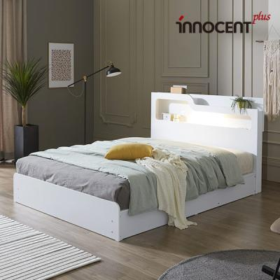 [이노센트] 리브 비아스 LED 수납 침대 Q/K