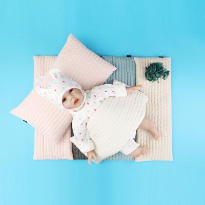 [조아뜨] 아기 100수 순면 모로반사 좁쌀베개 사계절