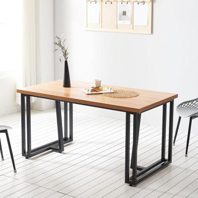 코디 1800 식탁 6인용 테이블 철제 카페