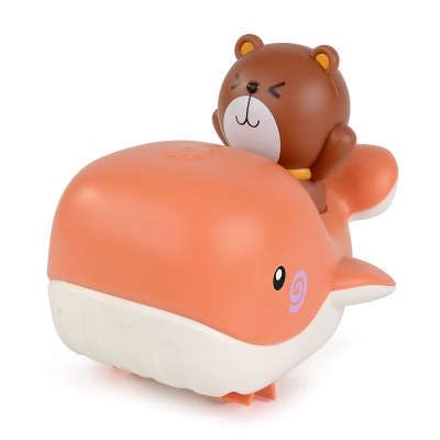 테디 수륙양용 고래보트 유아 목욕놀이 물총 장난감