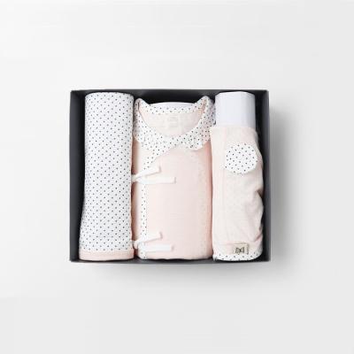 미니미 출산선물세트(저고리+속싸개+모자)여름용(7부)