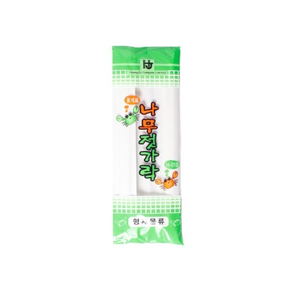 일회용 나무 위생 젓가락 캠핑 음식 식기 저분 8p