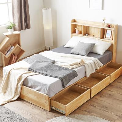 [노하우] 오르 LED 원목 슈퍼싱글 침대 (매트미포함)