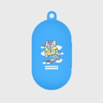 kkikki sky surfing-sky blue(buds jelly case)