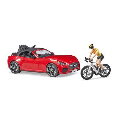 브루더 로드스터와 경주용 자전거 세트