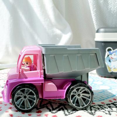 레나 트럭스 중장비 핑크트럭