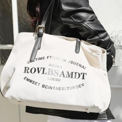 데일리 에코백 캔버스 숄더백 도트백 가방 넉스코