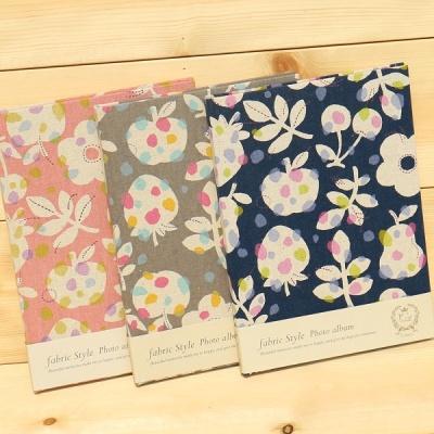 [Nakabayashi] B5 백년대지 패브릭 접착앨범..일본 나카바야시 Fabric Style 앨범 HF434