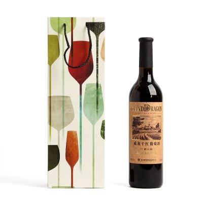 드로잉 와인 쇼핑백/와인백 와인선물용 주류가방