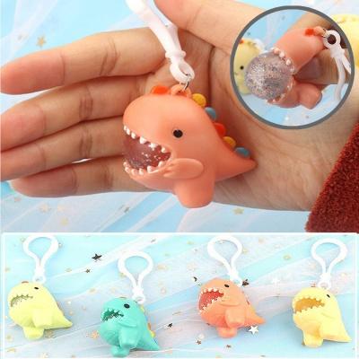 아기 공룡 말랑이 키링 버블 팝잇 모찌 신기한 장난감