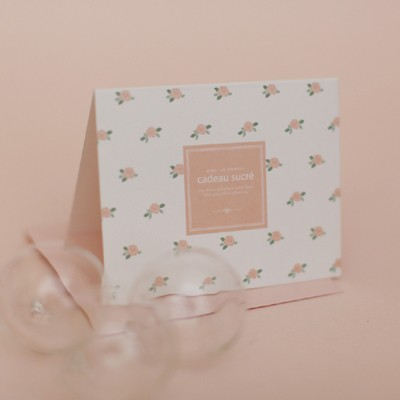 디비디 일러스트 카드 - Flower
