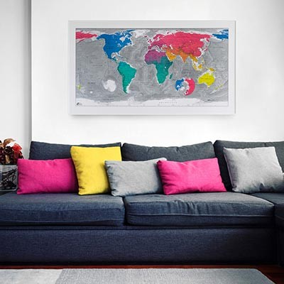 World Map (월드맵 Ver.3)