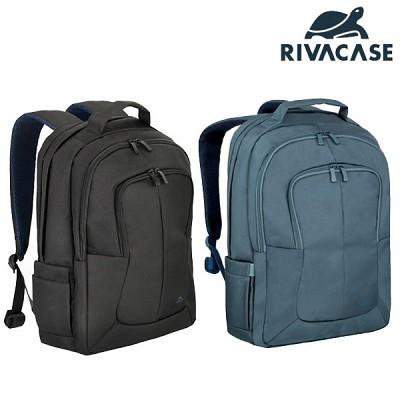 17형 노트북 백팩 가방 RIVACASE 8460 (태블릿PC & 액세서리 수납 공간 / 여행용 캐리어 장착 가능 / 패딩 처리 칸막이)