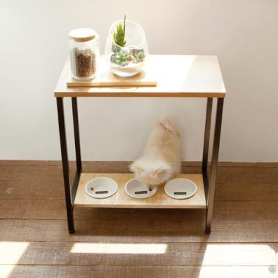 강아지 고양이 자세교정 3구 식탁