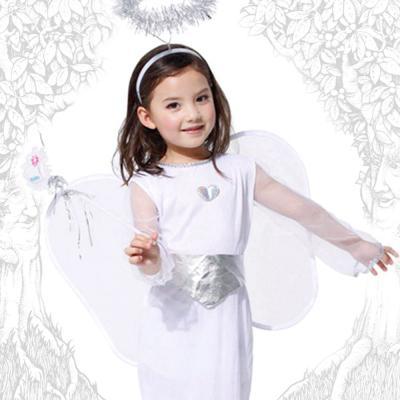 [G-0090] 꼬마 천사 의상 (6-8세)