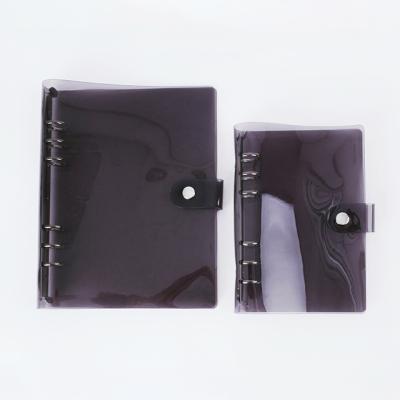 미뉴잇 투명 블랙 6공다이어리 A5/A6