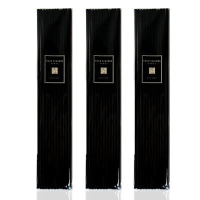 포시즌 디퓨저 섬유스틱 4mm 블랙 36개