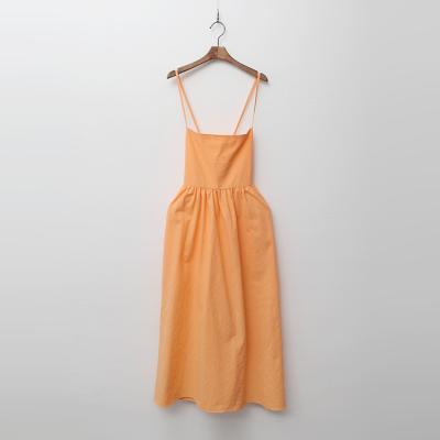 Linen Cotton X Cami Long Dress