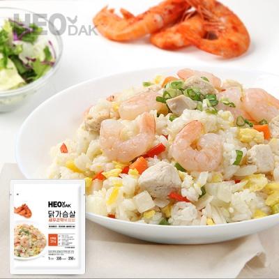 [허닭] 닭가슴살 새우곤약볶음밥 250g