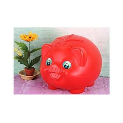 돼지 빨강 특대 돼지저금통 문구용품 생활용품 팬시