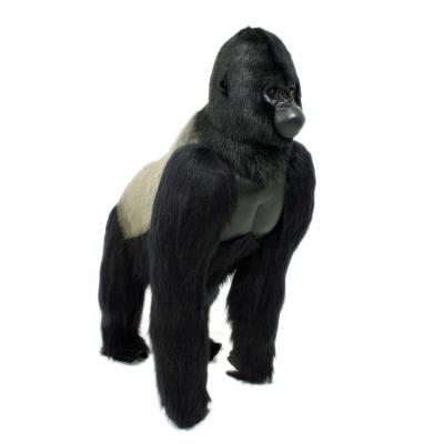 4325번 고릴라 Gorilla Lifesize Standing Silver Black/165*140cm