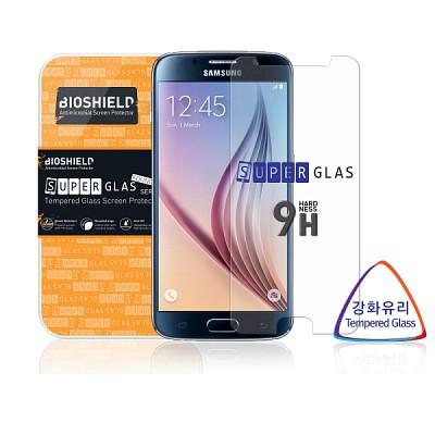 삼성 갤럭시S6 9H 강화유리 액정보호필름 (후면필름 무료증정)