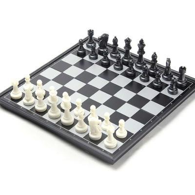 맥킨더 고급 자석 체스판 세트(블랙&화이트)