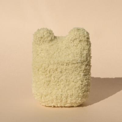 레이지띵 베이직 베이지 베어띵 뜨개 에어팟 케이스