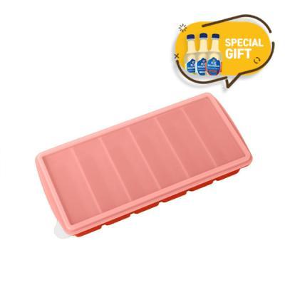국내생산 스틱형 실리콘 얼음트레이6홀 탄산수 3P세트