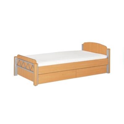 퍼시스 기숙사 1인침대 하부서랍有 학생용 URE101