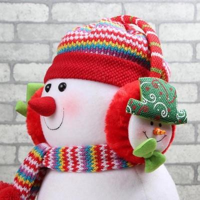 빙그레 눈사람 크리스마스 귀마개