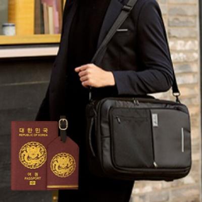 딜럽 유닛백2 트래블 백팩+세종 여권케이스