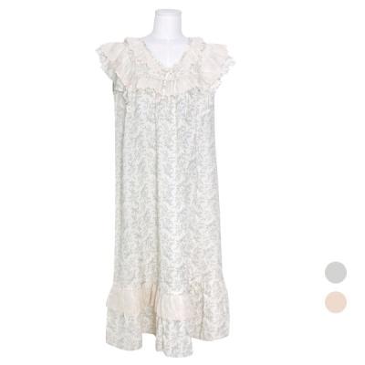 [쿠비카]레이스 프릴 페스타  원피스 여성잠옷 W775