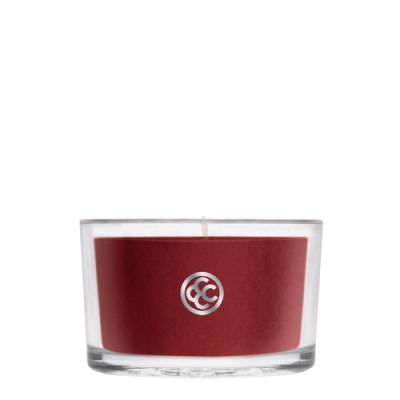 COLONIAL CANDLE 2852글래스 티라이트 캔들 카시스와 사이프러스