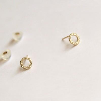 10k gold jenny earring