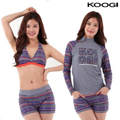 쿠기 여성 비치 수영복 KF-I222