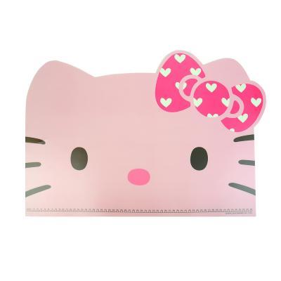 헬로키티 얼굴형 데스크 패드(핑크,화이트)