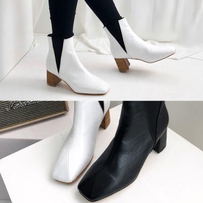 [애슬릿]발 편한 여성 첼시 앵클 부츠 5.5cm