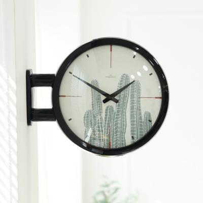Morden Double Clock Cactus(BK)