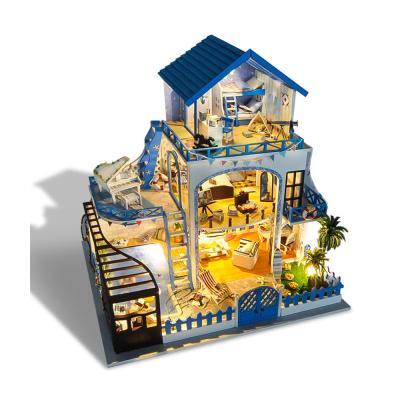 DIY 미니어처 풀하우스 - 하와이안펜션
