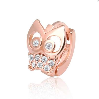 Owl 14K rose gold pin 링 피어싱 한쪽 CH1659151