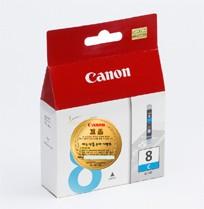 캐논(CANON) CLI-8C 파랑 잉크